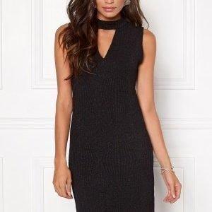 VILA Tana s/l dress Black