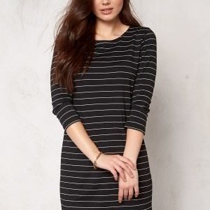 VILA Tinny New Dress Black/White