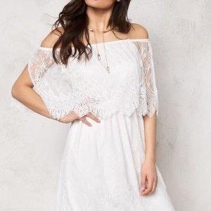 VILA Troya Dress Snow White