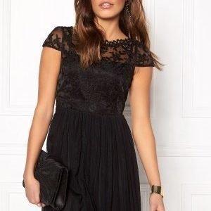 VILA Ulricana Short Dress Black