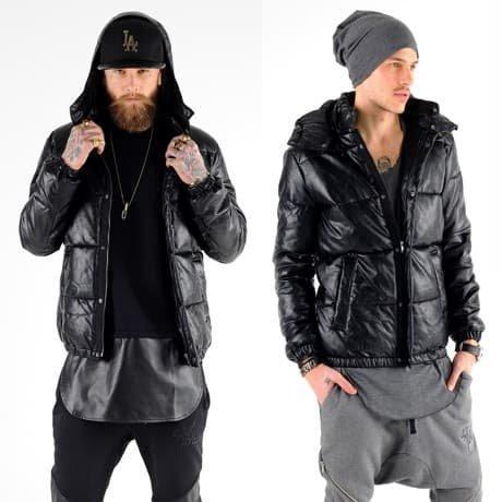 VSCT Clubwear Nahkatakki Musta
