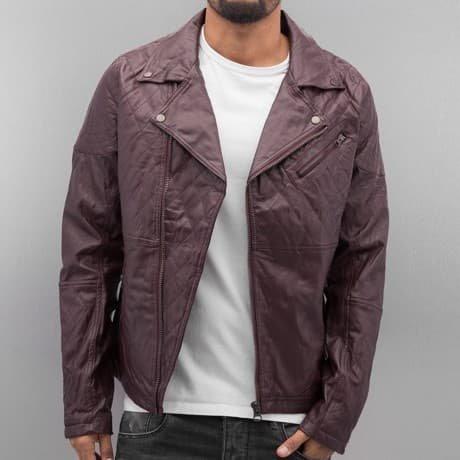 VSCT Clubwear Nahkatakki Punainen