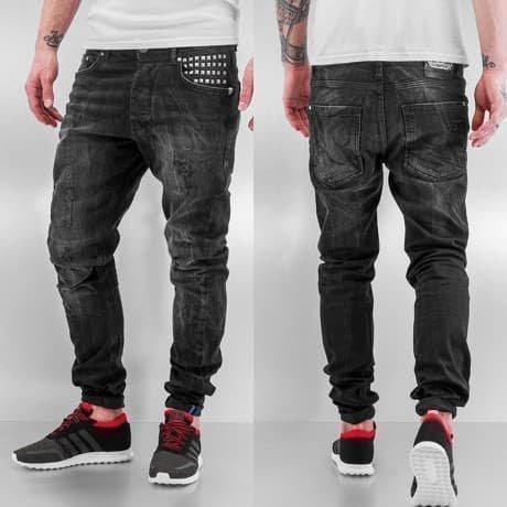 VSCT Clubwear Straight Fit Farkut Musta