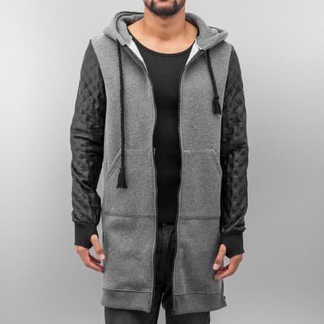 VSCT Clubwear Vetoketjuhuppari Harmaa