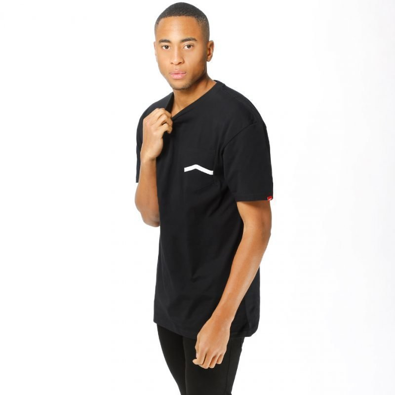 Vans Side Stripe Pocket -t-paita