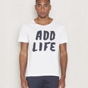 Velour by Nostalgi Add Lifte Tee White
