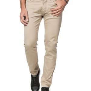 Velour by Nostalgi Julian Flex 5 Pocket Beige