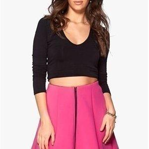 Vero Moda Aimy Short Skater Skirt Raspberry Rose