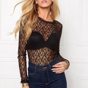 Vero Moda Amy Lace Top Black