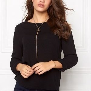 Vero Moda Asta LS Blouse Black