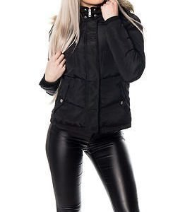Vero Moda Beanie Short Jacket Black