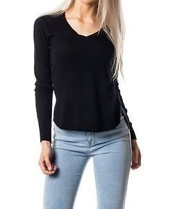 Vero Moda Care Structure V-Neck Blouse Black