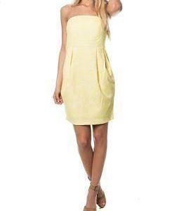 Vero Moda Cecilia Tube Short Dress Yellow Flow