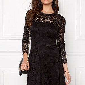 Vero Moda Celeb Lace Short Dress Black