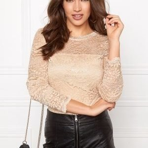 Vero Moda Celeb Lace Top Ivory Cream