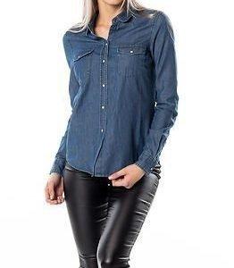 Vero Moda Daisy Denim Shirt Medium Blue