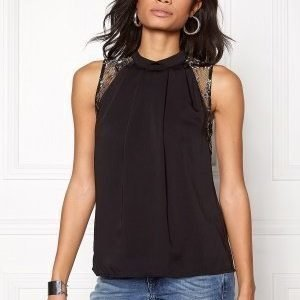 Vero Moda Dawn s/l Top Black/Black