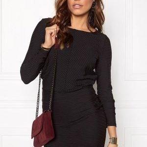 Vero Moda Dina LS Short Dress Black