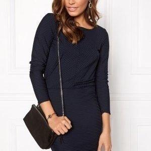 Vero Moda Dina LS Short Dress Navy Blazer
