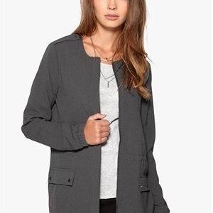Vero Moda Ebru Long Blazer Asphalt