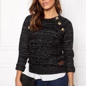 Vero Moda Emma LS Blouse Black