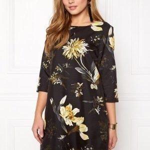 Vero Moda Fallon Short Zip Dress Black