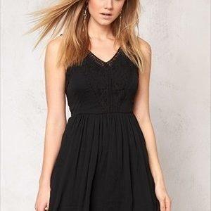 Vero Moda Freja s/l mini dress Black