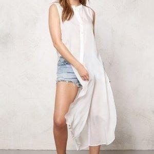 Vero Moda Meshy ankle shirt dress Snow White