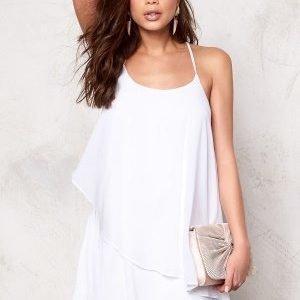 Vero Moda Miva s/l mini dress Bright White