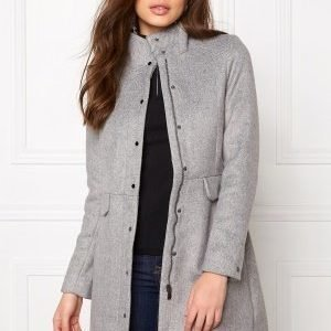 Vero Moda One Dope 3/4 Jacket Light Grey Melange