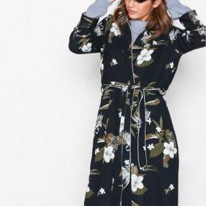 Vero Moda Vmaya 7 / 8 Long Kimono Fd17 Tummansininen