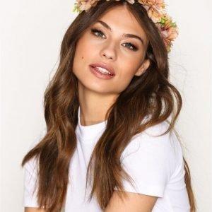 Vero Moda Vmclara Hairband Kukkakranssi Valkoinen