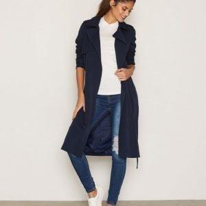 Vero Moda Vmexport New Long Jacket A Trenssitakki Tummansininen