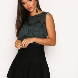 Vero Moda Vmfresno Short Knit Skirt Noos Minihame Musta