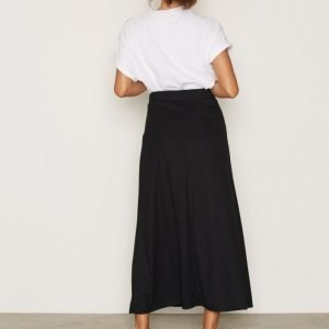 Vero Moda Vmlony Nw Ankle Skirt Noos Pitkä Hame Musta