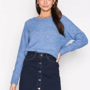 Vero Moda Vmmaya A-Shape Short Denim Skirt Sh Midihame Tummansininen