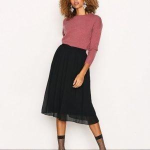 Vero Moda Vmpleta H / W Calf Skirt D2-5 Midihame Musta