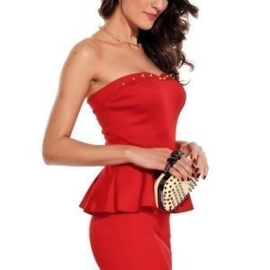 Verona punainen mekko