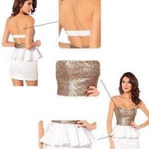 Vicky valkoinen mekko