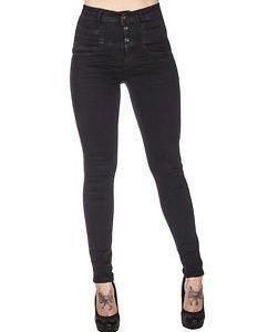 Victoria High Waist Dark Denim