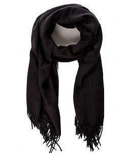 Vila Amuse Scarf Dark Grey