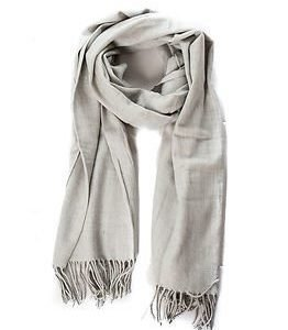 Vila Amuse Scarf Light Grey Melange