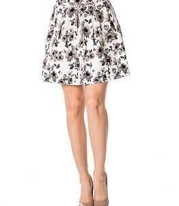 Vila Blumen Skirt Snow White