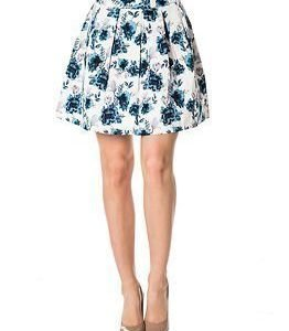 Vila Blumen Skirt Total Eclipse