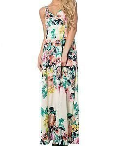 Vila Botanica Maxi Dress Pristine
