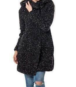 Vila Cama Coat Black/Snow White