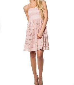 Vila Classico Corsage Dress Rose Smoke