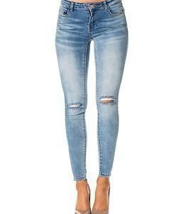 Vila Crush RW 5P 7/8 Light Blue Denim