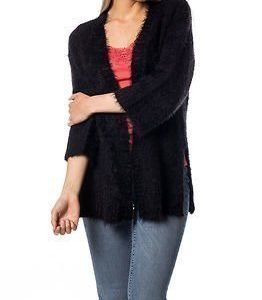 Vila Culture Knit Cardigan Black