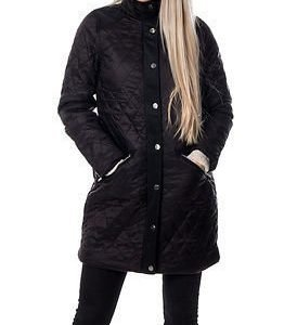 Vila Dahlia Quilted Coat Black